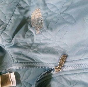 The North Face Women's jacket.  Baby Blue.